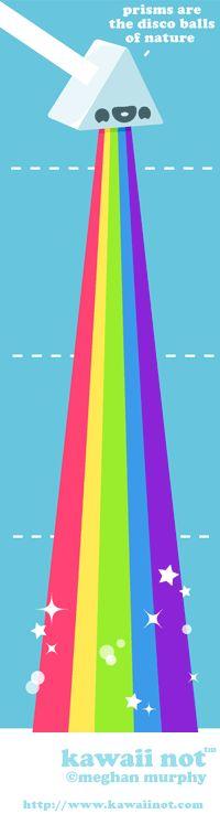 rainbow comic. additionally i love disco balls.