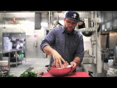 How to Make Meatballs with Dan Holzman, co-founder of The Meatball Shop - YouTube  Just resently descovered him over Facebook interview and can't believe I found a recipe of his now my goal is to go to his Meatball shop for lunch and meet him!!