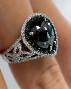 Black Diamond Collection @cobymadisonjewelry Black Diamond Engagement Ring @cobymadisonjewelry 15710 Whittwood Lane #whittier  #CA  #shoplocal #tattoojewelry #theonetruering #blackdiamond #blackdiamondrings #highfashion  #uptownwhittier #unique #orangecounty #oc #sayyes #sayido #ringoftheday  #weddingring #whittierjewelry #lamirada #lahabra #losangeles #finejewelry #brea #blackdiamondring #silverlake#blackdiamondengagementrings #tattoogirls #gothic #edgy #tattooculture