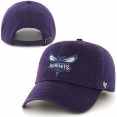 d1bee5fe49f  47 Brand Charlotte Hornets Clean Up Adjustable Hat - Purple Charlotte  Hornets