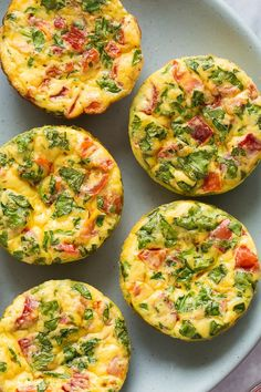 Mini Frittata Muffins + VIDEO – The Recipe Rebel (meal prep & freezable) These Mini Frittata Muffins are an easy breakfast recipe that is loaded with flavour, meal prep, make ahead and freezer friendly! Mini Frittata, Frittata Muffins, Frittata Recipes, Keto Egg Muffins, Mini Muffins, Egg Frittata Recipe, Easy Frittata Muffin Recipe, Breakfast Egg Muffins, Breakfast Frittata