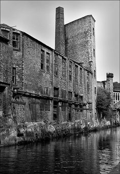 Rochdale canal, Castlefield, Manchester, shot by Charles Etchells. #places, #photography