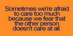 Caring too much quotes