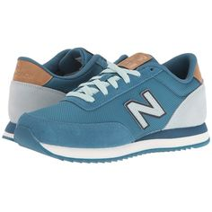 New Balance Classics WZ501 (Blue/Mint Cream Suede/Textile) Women's... (260 ILS) ❤ liked on Polyvore featuring shoes, sneakers, suede shoes, mint shoes, blue color shoes, grip shoes and suede lace up shoes