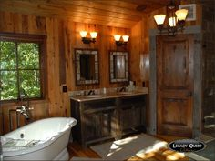 See related links to what you are looking for. Mountain Cabins, Farm House, Bathrooms, Kitchens, Bathtub, Outdoors, Homes, Dreams, Products