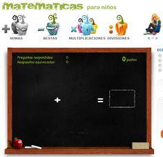 Math Cilenia, sumas, restas, multiplicaciones