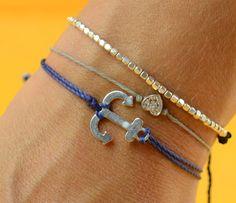 love the anchor bracelet!