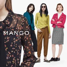 Mango ab dem 28.09.2016 bei uns im Shop : ►►  b4f.me/mango2016  #fashion #ootd #style #mango #lederjacke #bunt #mode #brands4friends