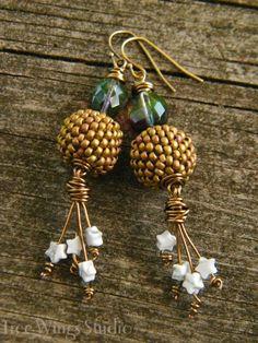 Make Your Own ~ Star Burst Earrings