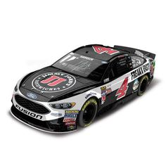 Kevin Harvick Action Racing 2017 #4 Jimmy John's 1:24 Monster Energy NASCAR Cup Series Autographed Galaxy Die-Cast Ford Fusion - $199.99
