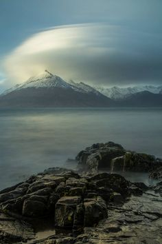 Moody day at Elgol on the Isle of Skye, Scotland