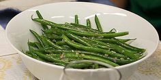 Tom's Green Beans with Shallots Recipes | Food Network Canada