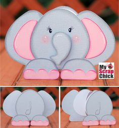 Elephant Zoo Animal Book: click to enlarge