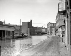 Erie Canal: 1910 | Shorpy Historical Photo Archive Utica