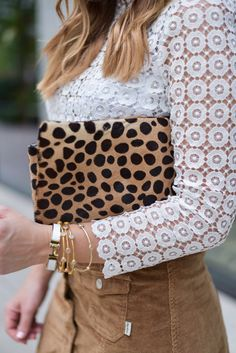 Flaunt and Center | Houston Fashion Blogger | Personal Style Blog #leopard #whitelace http://www.flauntandcenter.com