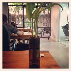 Thanks @RefreshGlass for hooking us up with this AWESOME Planter - 100% recycled - boy our clients show us some LOVE!!!