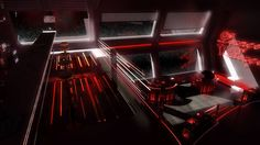 Space Lounge Rouge by =Siamon89