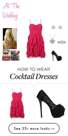 """""""I Do: At The Wedding (For My Fan-Fiction)"""" by recespiecess26 on Polyvore featuring Laona"""