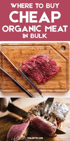 How To Get Cheap Organic Meat In Bulk That Ships For Free Organic Meat Delivery, Buy Meat Online, Meat Delivery Service, Sugar Free Bacon, Cooking The Perfect Steak, Beef Strips, Organic Chicken, Cheap Dinners