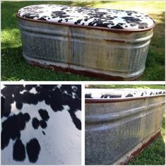 Clever Ways to Re-purpose a Water Trough Country Decor, Rustic Decor, Farmhouse Decor, Rustic Wood, Western Style, Rustic Style, Rustic Furniture, Diy Furniture, Cabin Furniture