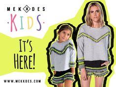 Mekkdes Kids para este invierno! #MekkdesKids #Winter #LimitedEditions  http://www.mekkdes.com/collections/mekdes-kids