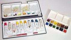 New to Watercolor Painting? Read These 10 Helpful Tips: Dry Watercolor Remains Soluble