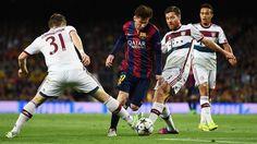 Лига Чемпионов, Бавария - Барселона