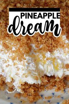 Potluck Desserts, 13 Desserts, Summer Desserts, Baking Desserts, Cake Baking, Fluff Desserts, Sweet Desserts, Pineapple Desserts, Pineapple Recipes