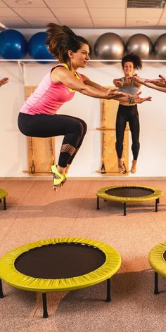 Build Strength and Stamina With This 15-Minute Trampoline Workout