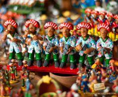 Artesanato na Feira de Caruaru. (Foto: Neylma Melo)