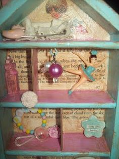 Shadow Box Cute idea for a gift for a little girl with her favorite theme....