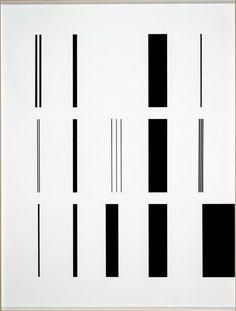 AURELIE NEMOURS                  The work Arc I - Centre Pompidou