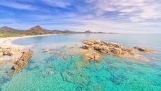 Scoglio di Peppino a Costa Rei in Sardegna