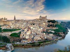 Toledo is a municipality located in central Spain, 70 km south of Madrid. It is the capital of the province of Toledo. It is also the capital of Places Around The World, Oh The Places You'll Go, Great Places, Places To Travel, Travel Destinations, Beautiful Places, Places To Visit, Around The Worlds, Vacation Meme