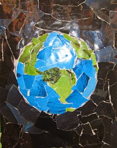 Earth Day Ideas for the Classroom- recycled magazine project