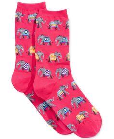 Hot Sox Women's Elephants Socks
