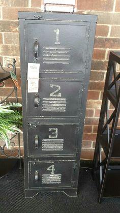 Locker for vintage sports nursery