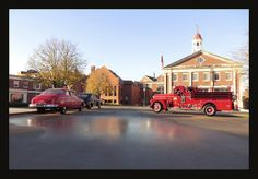 The New 1958 Seagrave Fire Engine | Michael Paul Smith, you can't always trust your eyes
