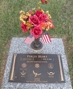 "Ferlin Husky (1925 - 2011) Country music singer, he had number one hits with ""Gone"" and ""Wings of a Dove"""