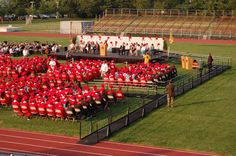 Fair Lawn High School in Fair Lawn, NJ turned to Jack Pignatello and Amramp Northern NJ to rent a wheelchair ramp for graduation to allow access to the stage for everyone.