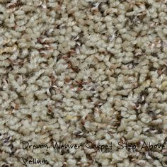 Dream Weaver Step Above, Vellum solution dyed BCF polyester carpet.