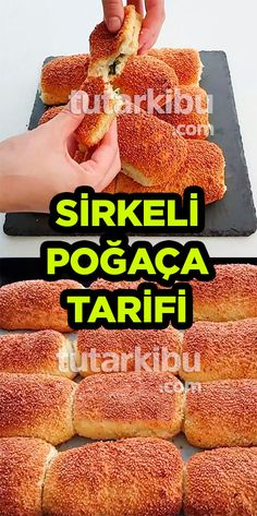 Sirkeli Poğaça Tarifi - Act Tutorial and Ideas Delicious Cake Recipes, Yummy Cakes, Sweet Potato Biscuits, Homemade Donuts, Pastry And Bakery, Baked Donuts, Healthy Cake, Donut Recipes, Turkish Recipes