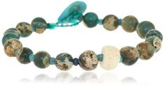 "Renee Garvey ""Ancients"" Aqua Terra, 10th Century Beads, Ancient African Shell Bracelet Renee Garvey. $150.00. Made in United States. Items that are handmade and use natural stones, may vary in size, shape and color"