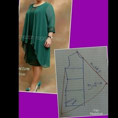 Dress Sewing Patterns, Blouse Patterns, Clothing Patterns, Blouse Designs, Sewing Hacks, Sewing Tutorials, Dress Tutorials, Sewing Sleeves, Pattern Cutting
