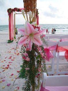 Pink Stargazers Tiki Torch