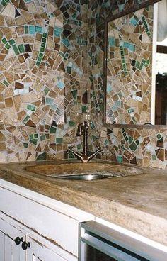 countertop   mosaic walls   bonnie mann