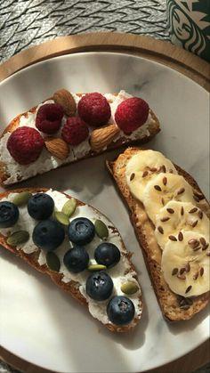 Think Food, I Love Food, Good Food, Yummy Food, Tasty, Healthy Snacks, Healthy Recipes, Breakfast Healthy, Breakfast Ideas