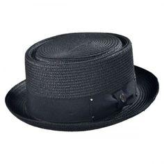Toyo Braid Pork Pie Hat  available at #Brighton