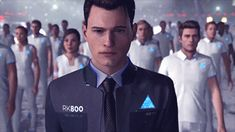 Detroit become human Connor and Android's Army