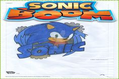 Sonic the Hedgehog Boom by R3452.deviantart.com on @DeviantArt